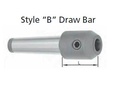 """with Drawbar End MT5-1/"""" End Mill Holder Style B"""