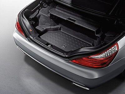 Oem Genuine Mercedes Benz Black Cargo Trunk Area Tray 13