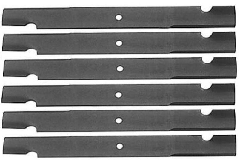 Lote de 6 Oregon 91-627 Blades para Ferris 72  Corte 48122 48113 481709