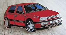 Volkswagen: VW Gold III - Pin: Golf 3 - 5,2 x 2,5 cm groß - emailliert - Kult!