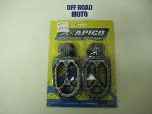 Apico-PRO-BITE-Footrests-Footpegs-KTM-65-525-98-14-Husaberg-Beta-Sherco