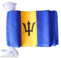 BARBADOS 9 METRE BUNTING 30 FLAGS flag Bridgetown Caribbean