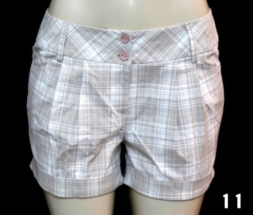BRNAD NEW WOMEN 11 DIFFERENT COLORS OF PLAIDS /& CHECKS SHORTS AND 1 CAPRIS