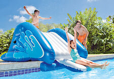 Intex Pool Fun Kids Inflatable Water Slide Play Center with Sprayer -SHIPS FREE