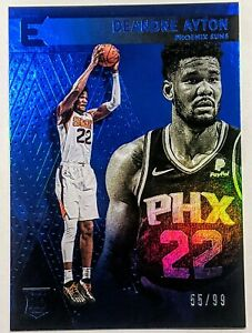DeAndre-Ayton-2018-19-Panini-Chronicles-Essentials-Blue-Rookie-99-RC-Suns