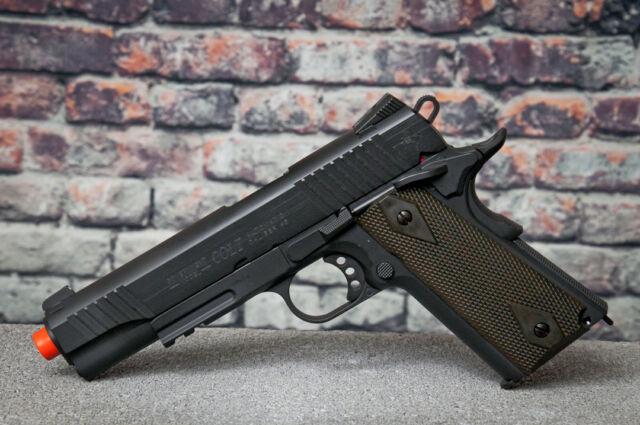 KWC Colt Full Metal 1911  45 ACP Co2 Rail Gun Blowback Airsoft Pistol 1k  Bb's