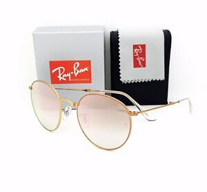 c6be2af8412 New RayBan Sunglasses 3532 198 7Y Folding Bronze Copper Mirror 53•20 ...