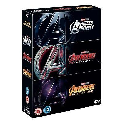 Avengers Infinity War Triplepack [DVD]
