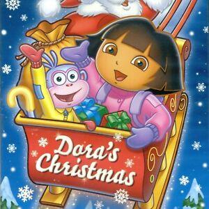 Dora-the-Explorer-Dora-039-s-Christmas-new-2004-animated-children-039-s-DVD-PBS-98-min