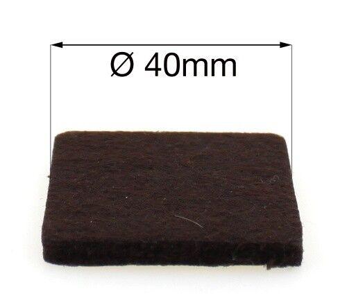 pour meuble Sol Protecteurs 32x 40 Mm Auto Adhésif Feutre Pads