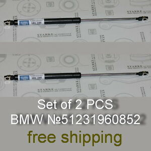 BMW 3 Series E36 Front Hood Damper Struts Gas Springs Pair 92-99