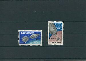 Roumanie-Romania-1969-Mi-2779-2780-Neuf-MNH-Espace-Astronautique-Espace