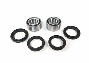 ATV Front and Rear Wheel Bearing Pair Yamaha Grizzly Arctic Cat Prowler 4x4