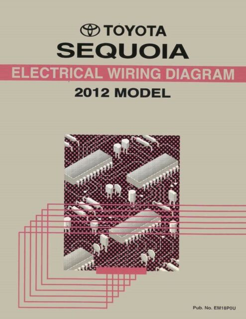 [NRIO_4796]   2012 Toyota Sequoia Wiring Diagrams Schematics Layout Factory OEM for sale  online   eBay   Layout Wiring Diagrams      eBay