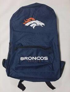 Image Is Loading Denver Broncos BackPack Back Pack Book Bag NEW