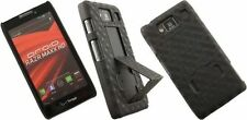 NEW BLACK CASE STAND COVER + BELT CLIP HOLSTER FOR MOTOROLA RAZR MAXX HD XT926M