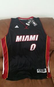 best sneakers 82d0c 4f351 Details about Adidas swingman josh Richardson #0 miami heat nba jersey NWT  size XL length2 men