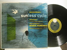 Moussorgsky Sunless Cycle / Prokofiev Poems, Kurenko, sop **Capitol P 8310 mono