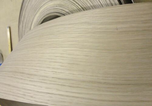 """White Oak wood veneer edgebanding 5-3//4/"""" x 120/"""" with preglued adhesive 5.75/"""""""