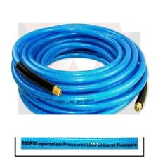 "100' ft Air Hose 1/4"" inch Ironflex Braided Polyprothane 200 PSI"