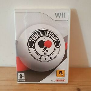 Nintendo-Wii-Game-Rockstar-Games-Table-Tennis-Good-Working-Order