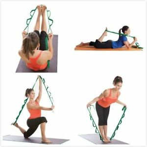 Image is loading Stretch-Out-Strap-Training-Fitness-Yoga-Straps-Exercise- 203045abd9ae