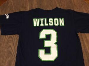 Russel-Wilson-3-Seattle-Seahawks-Medium-T-Shirt-NFL-Team-Apparel