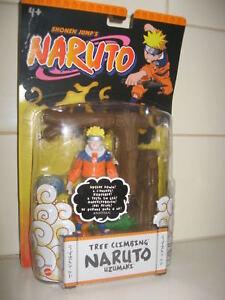 2006-Shonen-Jumps-NARUTO-Tree-Climbing-NARUTO-Uzumai-Figure-by-Mattel