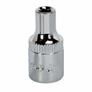 Sealey-sp1404-walldrive-Socket-4-Mm-De-1-4-de-034-SQ-Disco-completamente-pulido