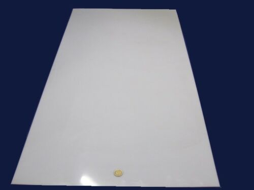 "Polyethylene 8 Unit 1//32 HDPE Sheet White,.031/"" Thick x 24/"" Wide x 48/"" Long"