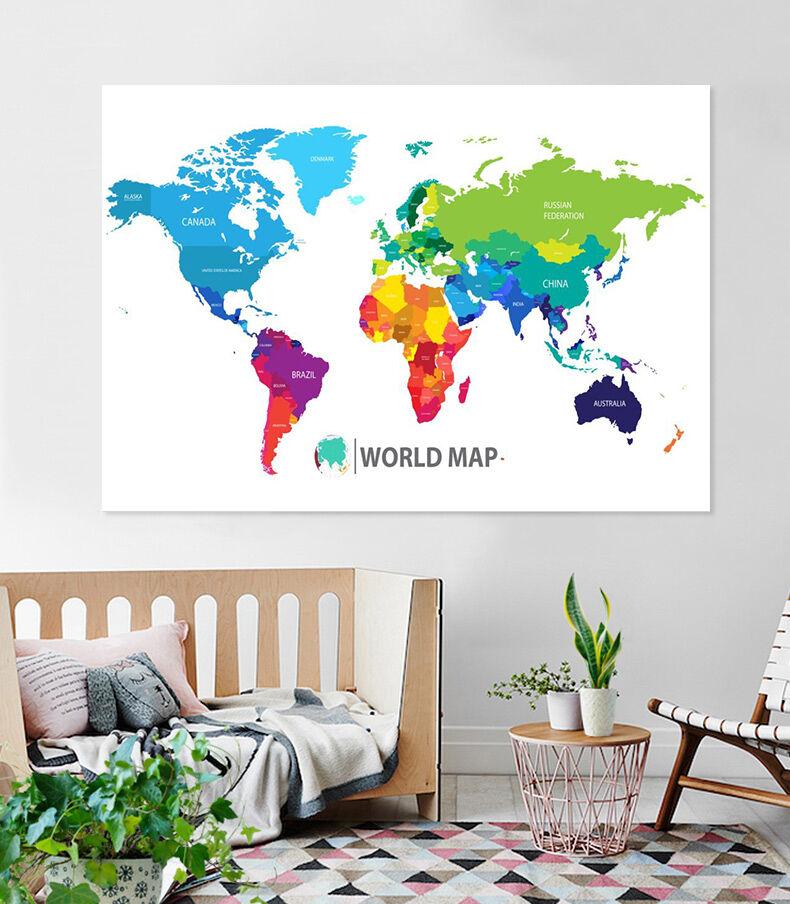 3D Schöne Karte 27 Fototapeten Wandbild Fototapete BildTapete Familie AJSTORE DE