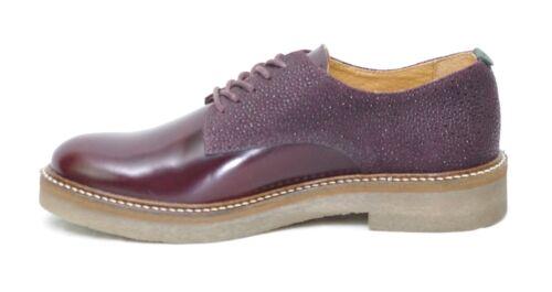 512054 Derbies Leather Brillant 182 in di 50 semi pelle Oxfork Kickers 8xg4qw8p