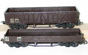Smcf Wagons Plat & Tombereau A Boggies /1955 Livraison Dans Le Monde Entier