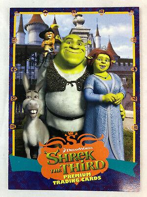 Shrek The Third 2007 Inkworks Promo Card S3 1