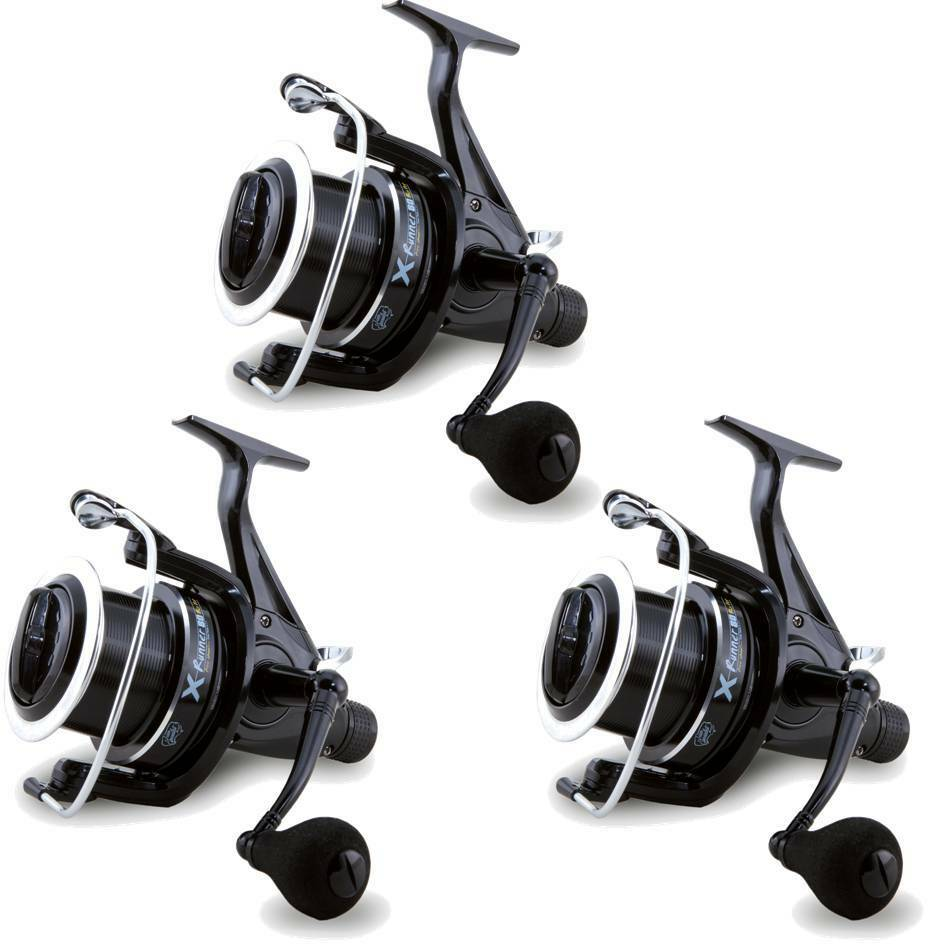 3 x Large 6BB Lineaeffe TEAM SPECIALIST Lineaeffe 6BB XRunner Big Pit Large Carp Fishing Reels 74a0db
