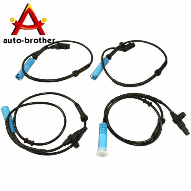 MOSTPLUS ABS Wheel Speed Sensor for BMW 740I 740IL 750IL Front /& Rear 98-01 Set of 4