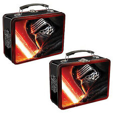 Star Wars Episode VII  ~ Large Tin Tote / Lunch Box by Vandor ~ 2015
