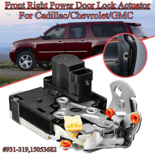 Door Lock Latch Actuator Front Right Passenger for Chevy Cadillac GMC 931-319