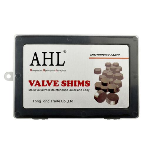 9.48mm Valve Shims 208Pcs Kit 1.2 to 4.0mm for Suzuki Kawasaki Honda Yamaha