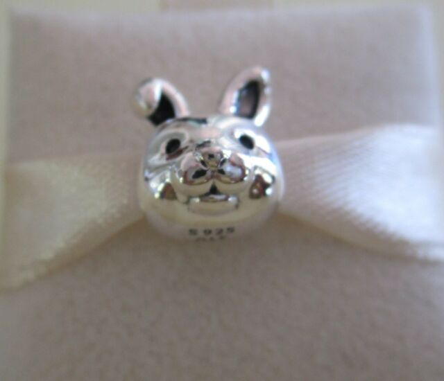 Genuine Pandora Sterling Silver Remarkable Rabbit Charm 791838