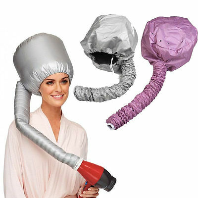 Comfort Home Portable Soft Hood Bonnet Attachment Haircare Salon Hair Dryer JB