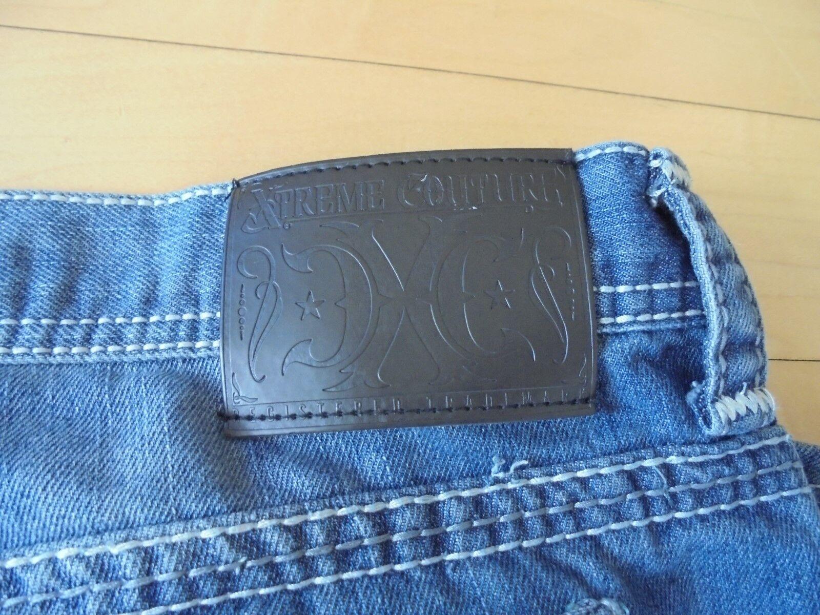 HOMBRE Extreme Couture Denum Casual 36 Vaqueros Talla 36 Casual 72163d