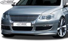 RDX Frontspoiler VW Passat 3C B6 Front Spoiler Lippe Vorne Ansatz