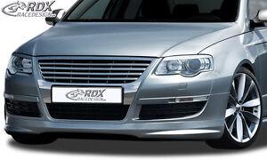RDX-Frontspoiler-VW-Passat-3C-B6-Front-Spoiler-Lippe-Vorne-Ansatz