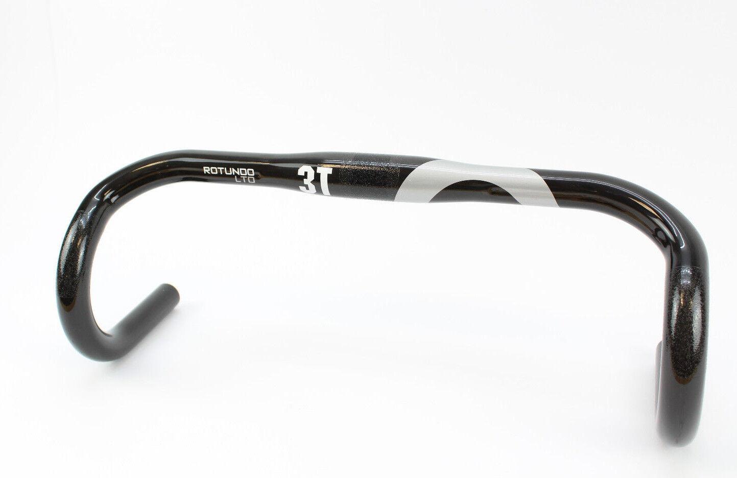 3t rossoundo Ltd 31,8 mm bicicletta da corsa Manubrio  NUOVO  40 CM CARBONIO UD Road Bar Ovp 2018