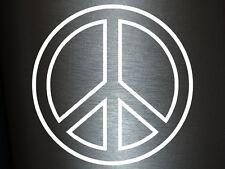 1 x 2 Plott Aufkleber Peace Zeichen Frieden Ehre Victory Hippie Sticker Flower