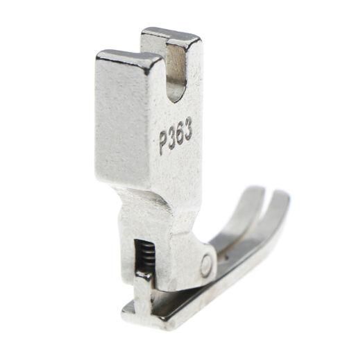 Edelstahl Industrie Reißverschluss Presser Fuß P363,für Brother Juki Nähmaschine