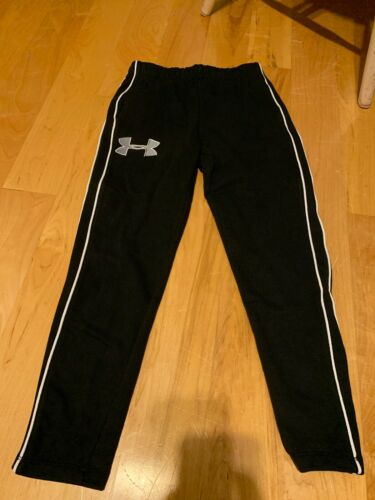 Under Armour Authentic Youth Girls Sweat Pants Fitted Skinny Bog Logo YSM