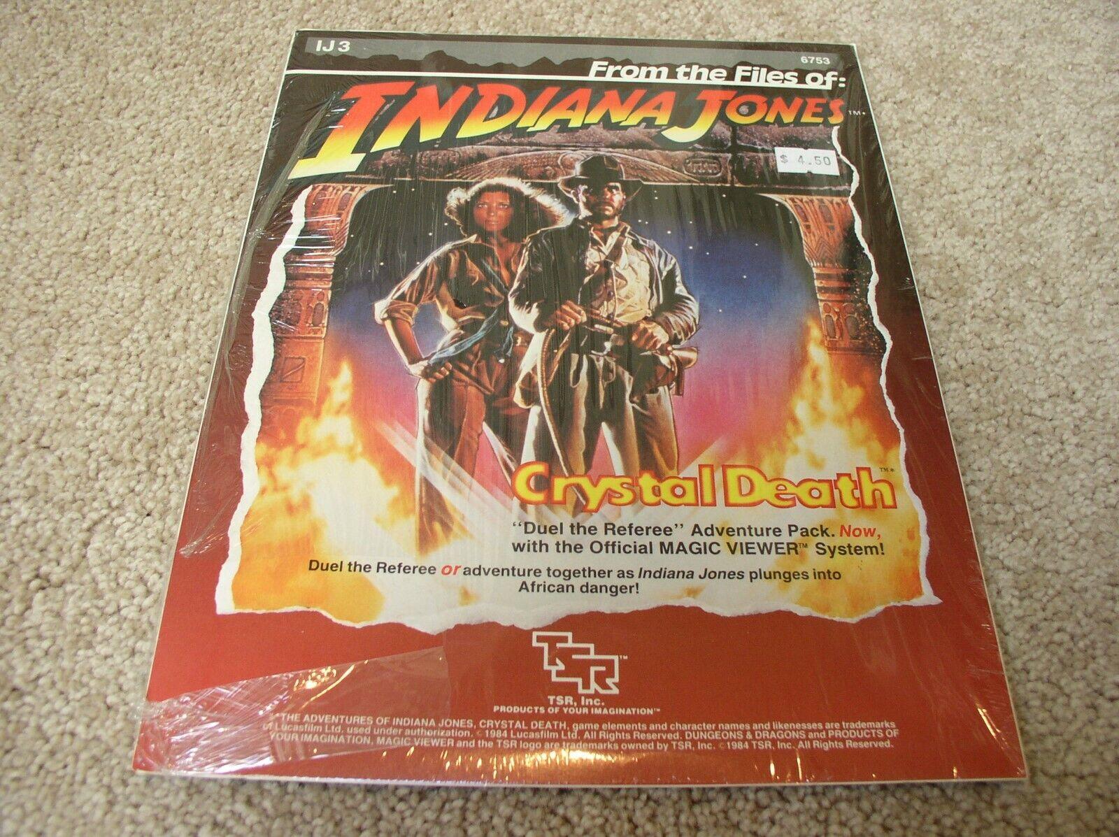 orden ahora disfrutar de gran descuento TSR Indiana Jones Jones Jones IJ3-Cristal muerte Aventura Pack-Sellado  vendiendo bien en todo el mundo