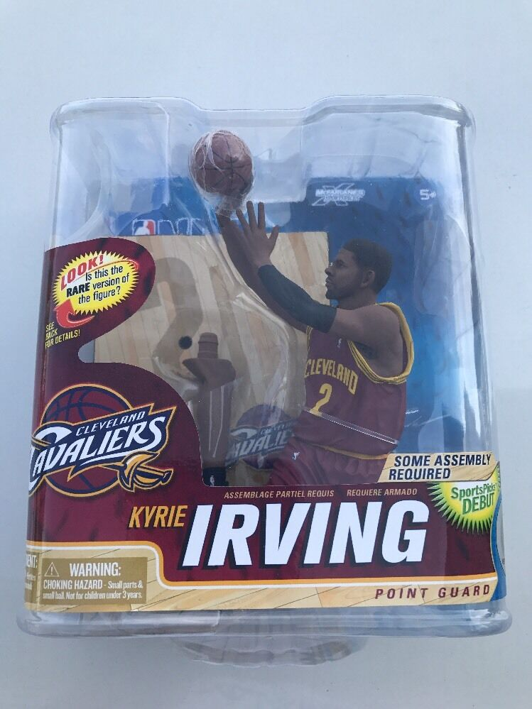 Mcfarlane NBA Series 22 Kyrie Irving Debut Rookie Action Figure